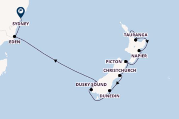 Belle croisière avec Celebrity Cruises pendant 12 jours