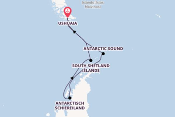 Cruise met Silversea naar het charmante Ushuaia