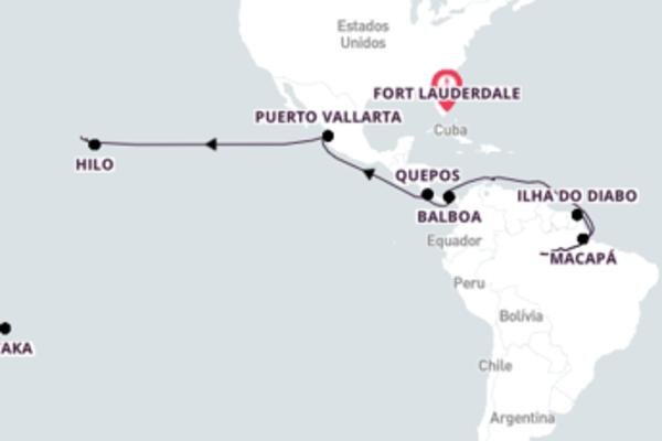 37 dias navegando a bordo do Amsterdam