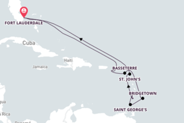 Fascinante viagem até Fort Lauderdale, Flórida