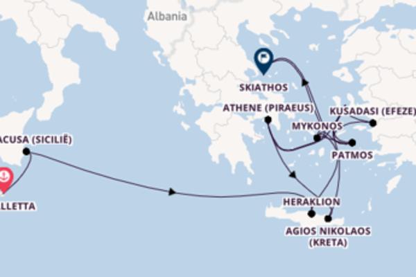 Mykonos bezoeken met de Seabourn Encore
