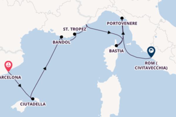 Faszinierende Reise über Ciutadella in 8 Tagen