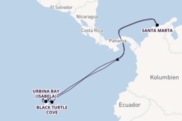 8 Tage unterwegs mit der Celebrity Xpedition