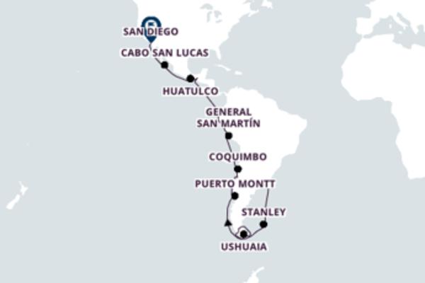 34 dias navegando a bordo do Westerdam