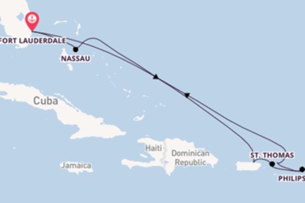 De pracht van het wonderschone Nassau