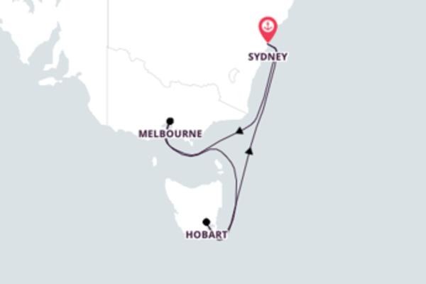 Espetacular viagem com o Voyager of the Seas