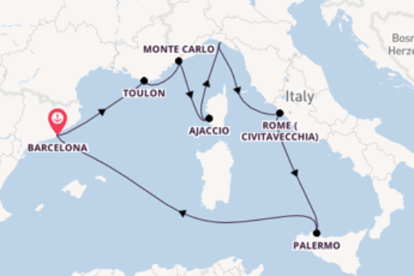 Magnificent trip from Barcelona with Royal Caribbean