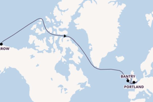 A bordo do Seabourn Quest em uma viagem de 15 dias