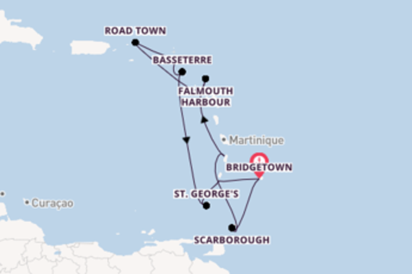 Wunderbare Kreuzfahrt über St. George's ab Bridgetown