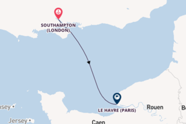 Expedition with MSC Cruises from Southampton (London)