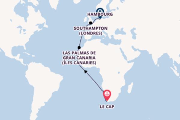 Élégante balade de 18 jours au départ de Le Cap