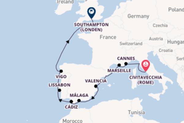 Ga mee op de Norwegian Epic naar Southampton (Londen)