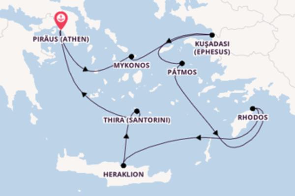 4-Nächte-Kreuzfahrt  Ikonische Ägäis