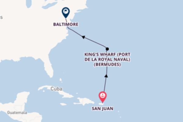 Élégante virée de 6 jours depuis San Juan