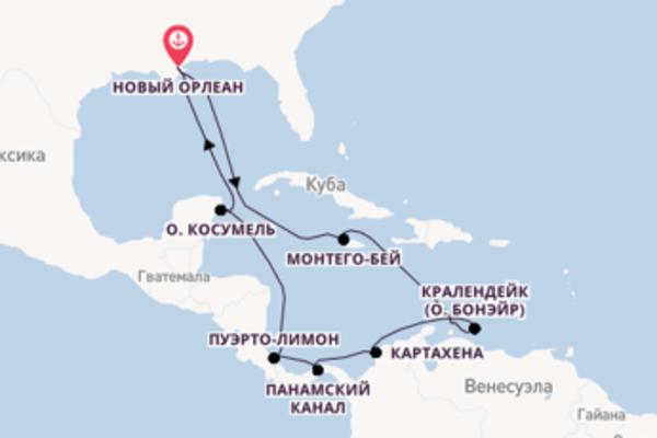 Бирюза Карибского моря