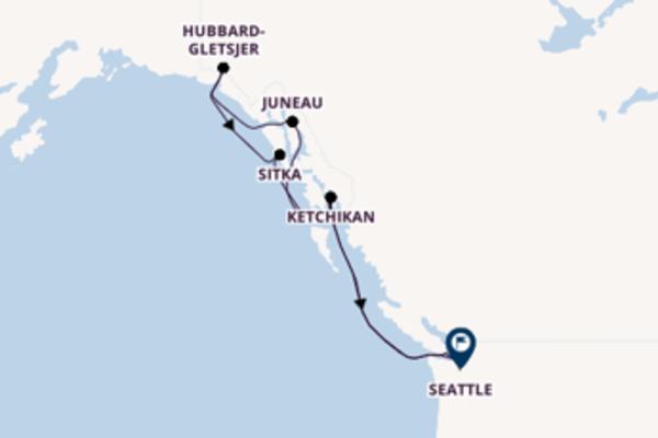 Cruise met Holland America Line naar Juneau