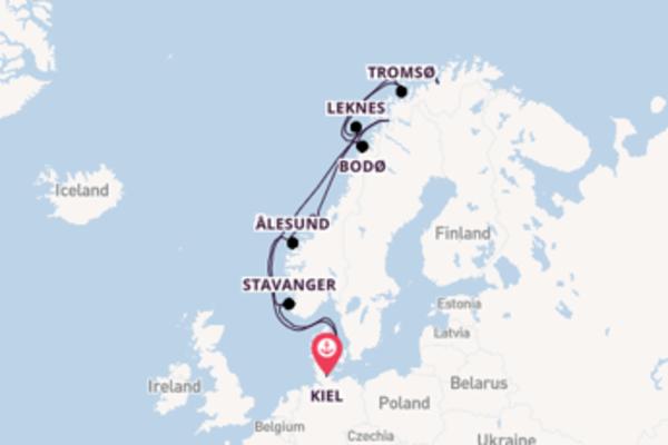 Geniet van het wonderschone Leknes met AIDA Cruises