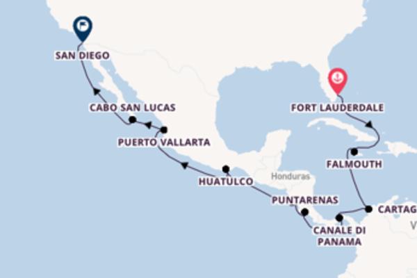 Lasciati incantare da Fort Lauderdale, Puerto Vallarta e San Diego