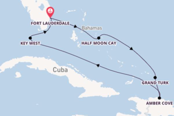 Geniet van het wonderschone Key West met Holland America Line