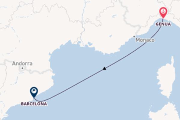 Cruise met MSC Cruises naar het avontuurlijke Barcelona