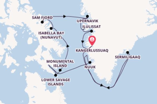 Fantastische Reise nach Kangerlussuaq