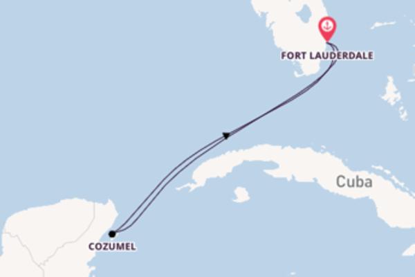 Jornada de 5 dias até Fort Lauderdale com o Allure of the Seas