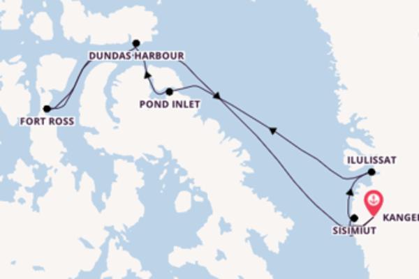 Divine croisière de 19 jours avec Hurtigruten