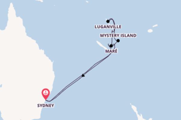 12 giorni di crociera da Sydney