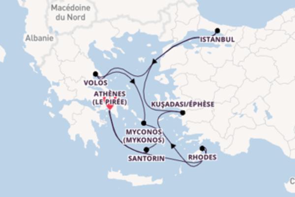 Ressentez à bord du bateau Norwegian Spirit, la destination: Kuşadası/Éphèse