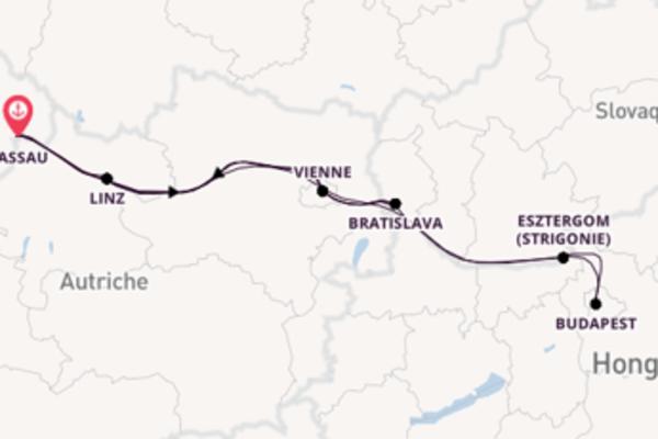Fantastique balade de 12 jours au départ de Passau, Allemagne