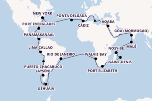 Cruise met Costa Cruises naar Nosy Be