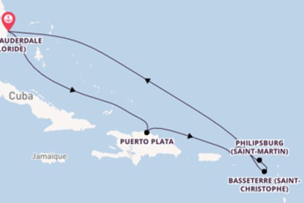 Croisière de 9 jours vers Fort Lauderdale (Floride) avec Royal Caribbean