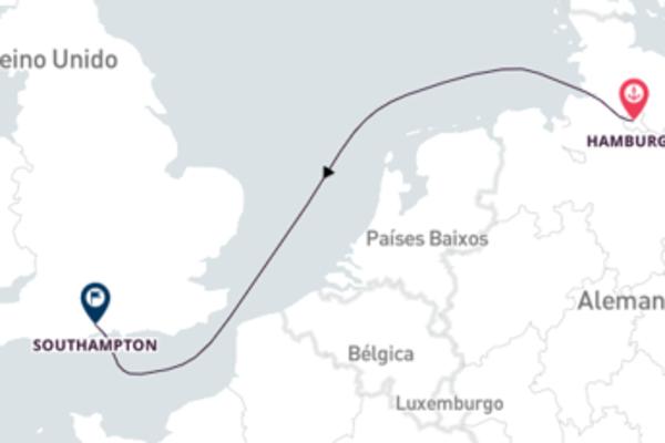 Curta 3 dias a bordo do Queen Victoria