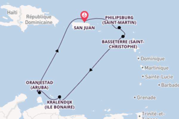 Incontournable croisière vers San Juan via Kralendijk (Ile Bonaire)