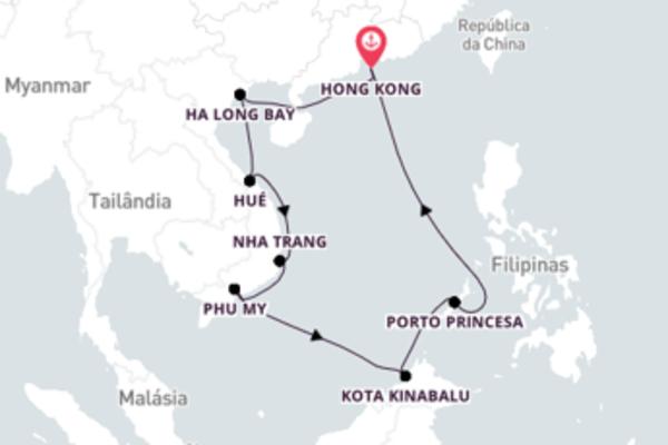Relaxe a bordo do Seven Seas Explorer em 13 dias