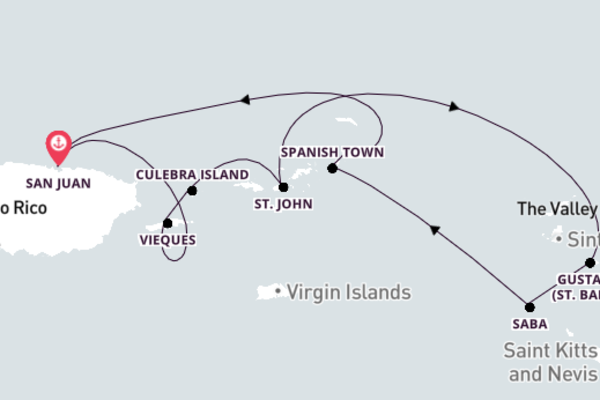 Delightful St. John with SeaDream I