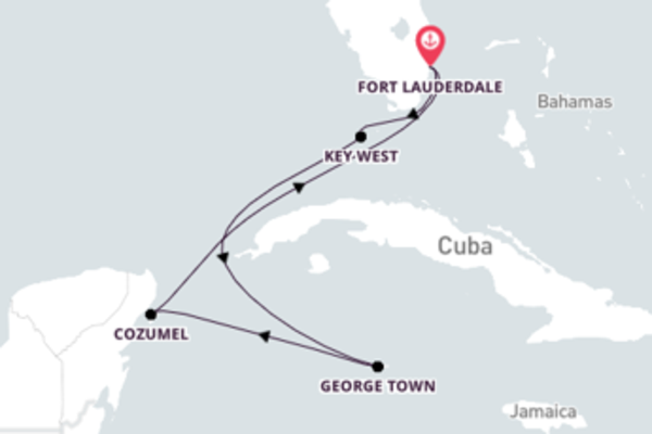 Impressionante cruzeiro de 7 dias com a Celebrity Cruises