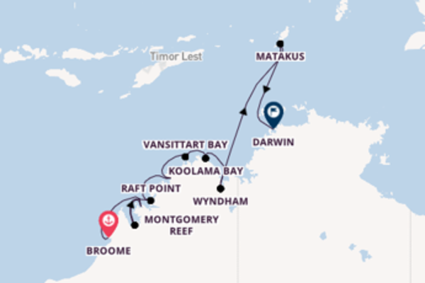 Expedition from Broome to Darwin via Wyndham