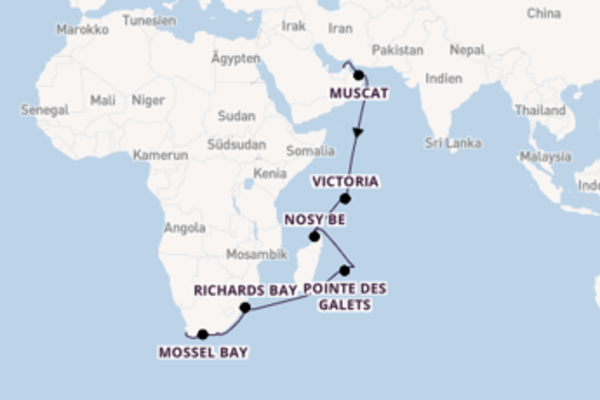 Wundervolle Reise mit der Norwegian Jade
