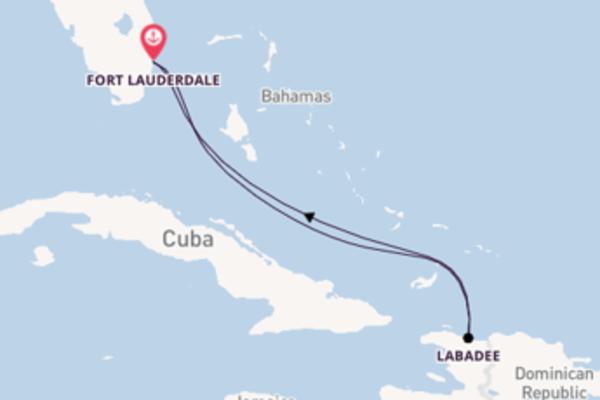 Lasciati conquistare da Labadee partendo da Fort Lauderdale