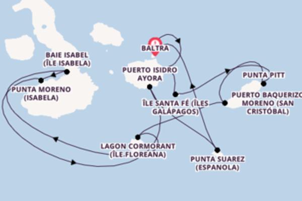 Superbe balade de 8 jours à bord du bateau Celebrity Xpedition