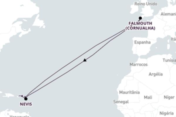 Inigualável viagem de 8 dias a bordo do SeaDream II