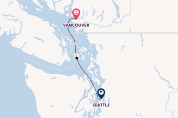2-tägige Kreuzfahrt von Vancouver nach Seattle