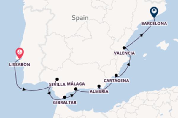 Barcelona verkennen met de Azamara Journey