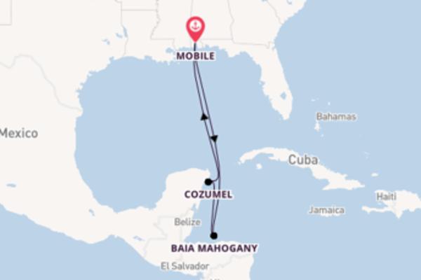 Viaggio di 7 giorni a bordo di Carnival Sensation