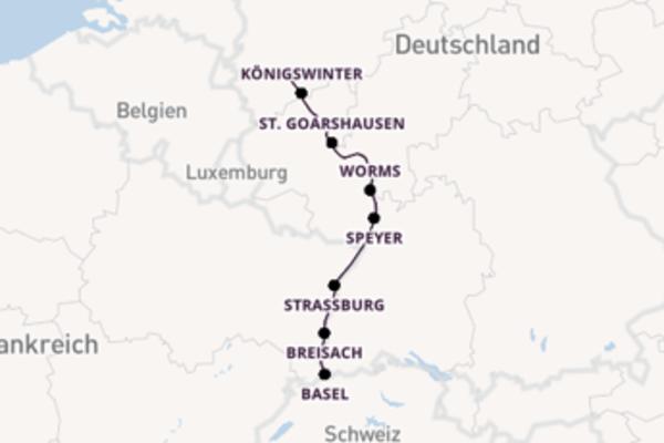 Entdecken Sie Braubach auf der Switzerland