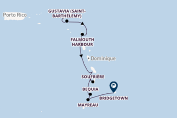 8 jours pour découvrir Gustavia (Saint-Barthélemy)