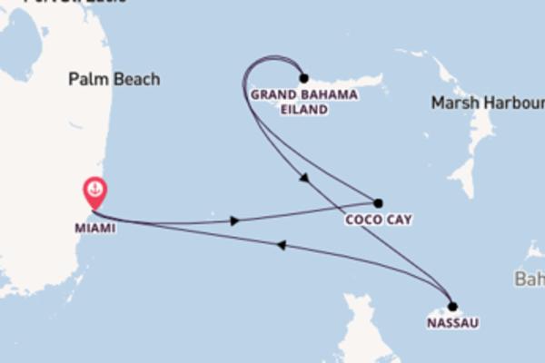 Ga mee op de Freedom of the Seas naar Miami