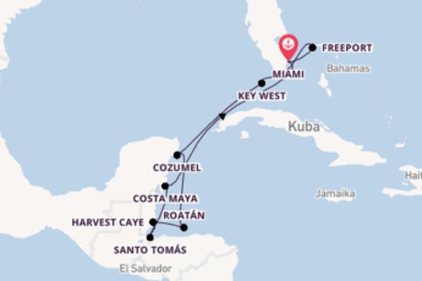 In 11 Tagen nach Miami über Key West