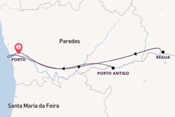 6 day journey on board the Vasco de Gama from Porto